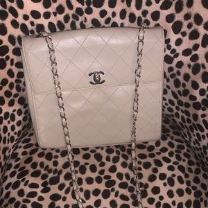 Authentic Vintage Chanel can be worn as Crossbody